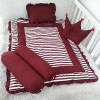 Bedding set bayi-matras bayi-kasur bayi-bedcover bayi-selimut bayi-red