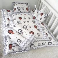 Bedding set bayi-kasur bayi-matras bayi-bantal guling bayi-lion