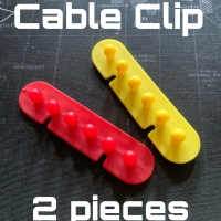 Cable Clip Klip Kabel Organizer Cable 5slots 2 pieces