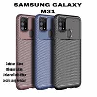 Case Samsung Galaxy M31 Case Softcase Rugged Armor Original