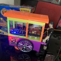 Mainan Gerobak Sate Madura Batre LED Music Mainan Edukasi Anak MURAH