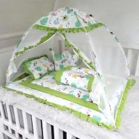 Kelambu bayi-matras set bayi-kasur bayi-bedcover bayi-bantal guling