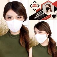 Masker kain 2ply bisa di cuci (banyak warna)