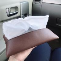 Travel tissue pouch tempat tisu dompet kulit souvenir murah