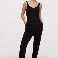 H&M Women Sleeveless Jumpsuit Black Original HnM Dress Cewek Wanita