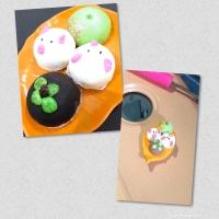 Miniatur clay bakpao karakter