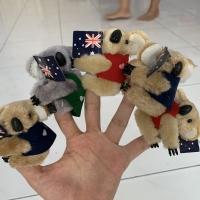 Souvernir Boneka koala australia 7cm