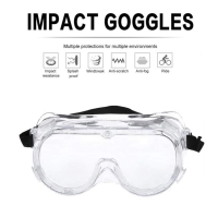 Medical goggles safety glasses anti fog kacamata pelindung dokter
