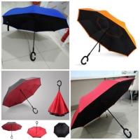 Payung Terbalik Reverse Umbrella Gagang C
