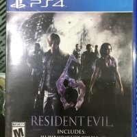 Kaset BD PS4 RESIDEN EVIL 6 With DLC
