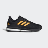 Adidas Men SoleCourt Tennis Shoes Core Black Original
