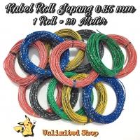 Kabel Bintik Jepang 0.85 MM / Kabel Roll / Kabel Bodi Mobil & Motor