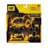 Little Machine CAT Caterpiilar Mainan Set Diecast Anak Truk Konstruksi