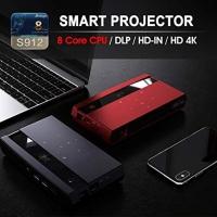 New EZZRALE Smart mini ocket H96 MAX Octa Core DLP Projector ORIGINAL