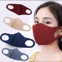 Masker kain Scuba Warna