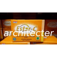 ESTER C PLUS CNI (STRIP) VITAMIN C ISI 40 TABLET ASLI ORIGINAL
