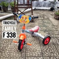 Sepeda anak roda tiga family F338