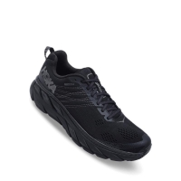 Hoka One One Clifton 6 Mens Running Shoes - Black