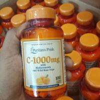 PURITANS PRIDE VITAMIN C 1000 mg with Bioflavonoids 100 Caps