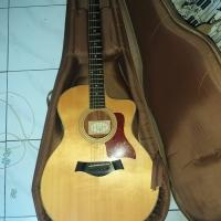 Taylor guitar 214ce Top solid sitka spruce, Rosewood back/side