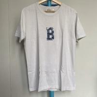 Kaos Vintage Pria Merk Bluesville Warna Putih