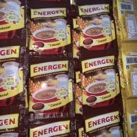 Energen sereal coklat 30 gram isi 10 sachet. Exp date lama