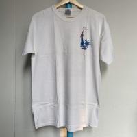Kaos Vintage Pria Merk Gildan Warna Putih