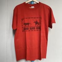 Kaos Vintage Pria Merk Gildan Warna Merah