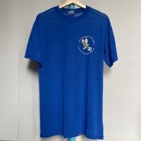 Kaos Vintage Pria Merk Gildan JOMA SPORT Warna Biru