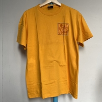 Kaos Vintage Pria DEAD POETS SOCIETY Warna Kuning