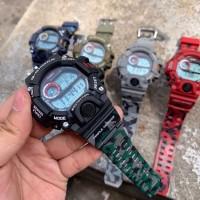 JAM TANGAN G SHOCK GW9400 RANGEMAN LORENG HITAM ARMY DIGITAL WATCH