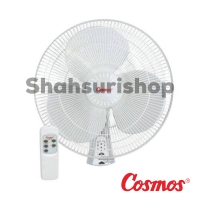 COSMOS 16-WFCR WALL FAN KIPAS ANGIN DINDING 16 INCH WITH REMOTE 16WFC