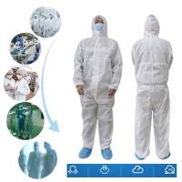 Hazmat suit medical isolation gown protection baju pelindung astronot
