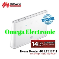 Modem Wifi Home Router 4G LTE Huawei B311 UNLOCKED Free Telkomsel 14GB