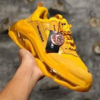 Sepatu Balenciaga Triple S Yellow Premium Original