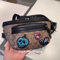Coach X Disney Terrain Belt Bag Sig Canvas Snow White Ed. - Ori 100%