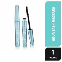 Wardah Aqua Lash 6gr Maskara EyeXpert Hitam Waterproof AntiAir Mascara