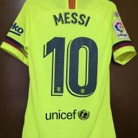 Original Jersey Barcelona 2018-19 Messi Vaporknit Mint