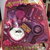 LuMBeauty Boutique Mainan Anak Perempuan Dandan Hairdryer Salon