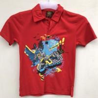 Baju Kaos Anak Laki Berkerah Karakter Batman 2-3 tahun