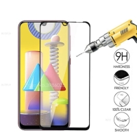 SAMSUNG GALAXY M21 PREMIUM TEMPERED GLASS 5D FULL COVERED GLUE PRO
