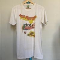 Kaos Vintage Pria Merk Gildan THE BEATLES Warna Putih