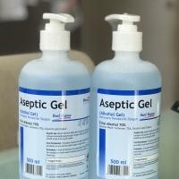 OneMed hand Sanitizer Pump Aseptic Gel 500 ml ( Gel antiseptik OneMed