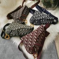 Tas C Dior Saddle Mini Bisa Waistbag & Sling tas slempang wanita