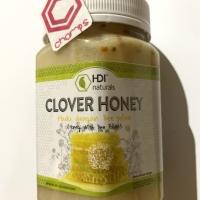 Clover honey HDI naturals madu asli bee pollen 500gr