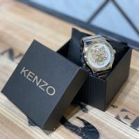 Jam tangan kenzoo gold white