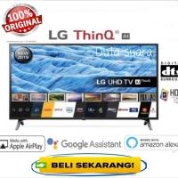 TV LED LG 49 Inch 49UM7100 Digital Smart TV UHD 4K HDR Active Resmi LG