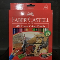 Pensil Warna Faber Castell 48 Classic Colour Pencils Alat Tulis Anak