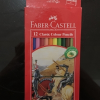 Pensil Warna Panjang FABER CASTELL 12 Classic Colour Pencils MURAH