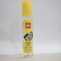 Lem Cair Liquid Glue Super Clear 50ml Deli
